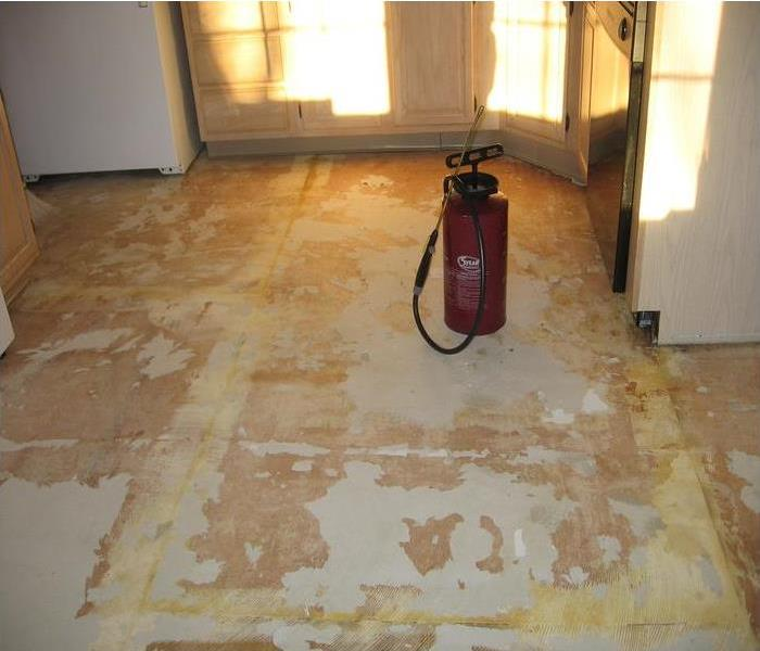 Water affects flooring