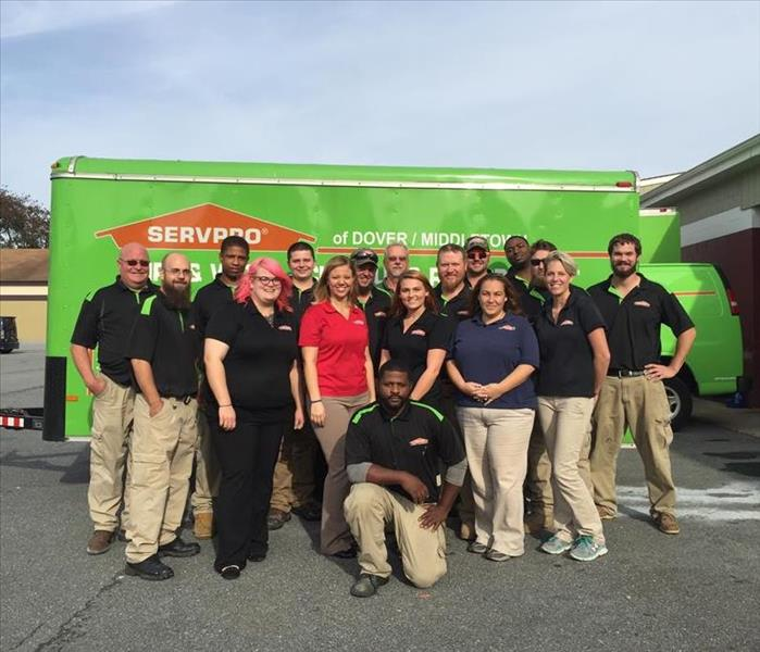 SERVPRO of Dover/Middletown staff